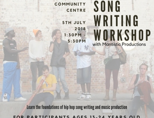 Song/Poetry Writing Workshop